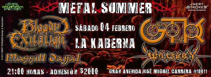 4 de Febrero: Metal Summer en Santiago