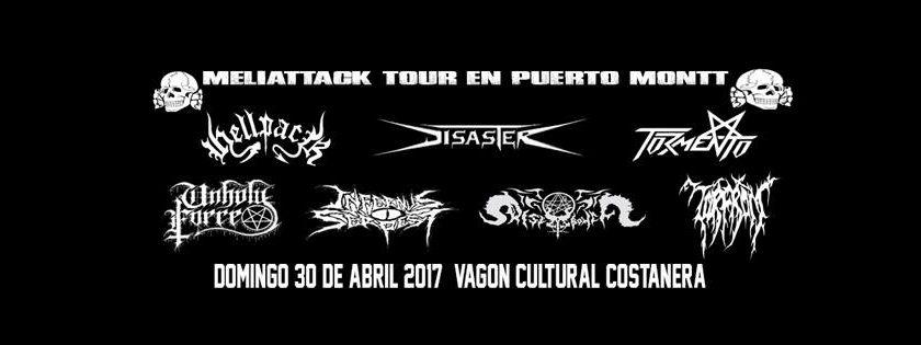 30 de Abril: Meliattack Tour en Puerto Montt