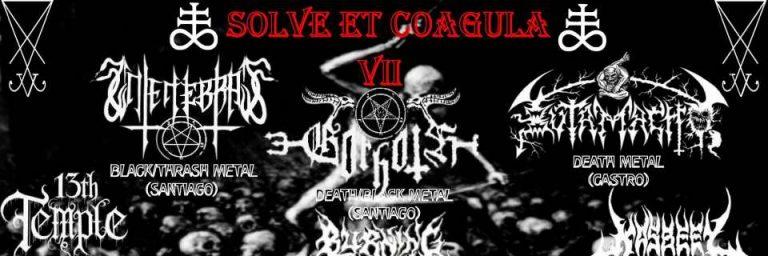 8 de Julio: Solve Et Coagula VII en Puerto Montt