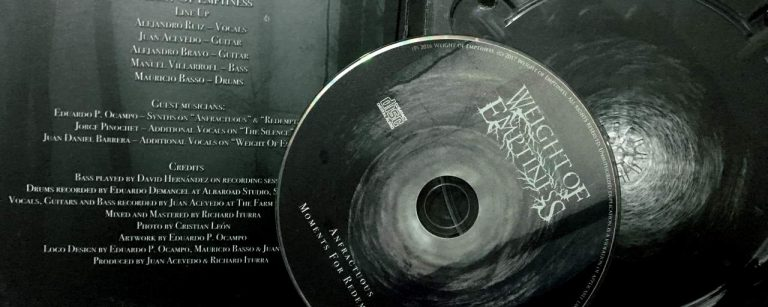 Comentando Discos: Weight Of Emptiness – Anfractuous Moments For Redemption