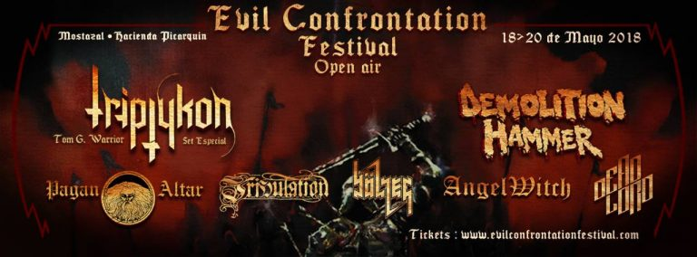 Espectadores: Evil Confrontation Festival Open Air en San Francisco de Mostazal