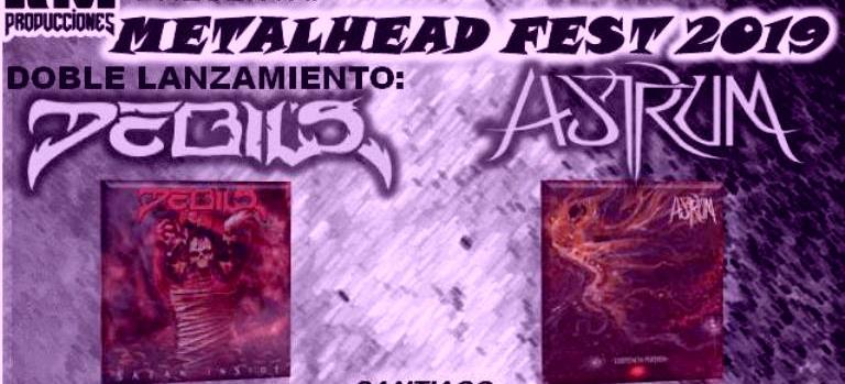6 de Abril: Metalhead Fest 2019 – Lanzamiento doble «Satan Inside» de Debil's y «Existencia Perdida» de Astrum en Temuco