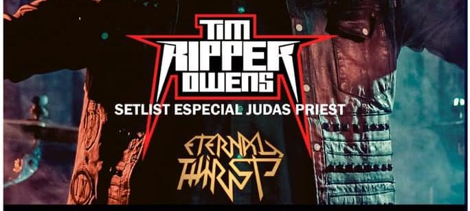 4 de Abril: Tim «Ripper» Owens en Chile